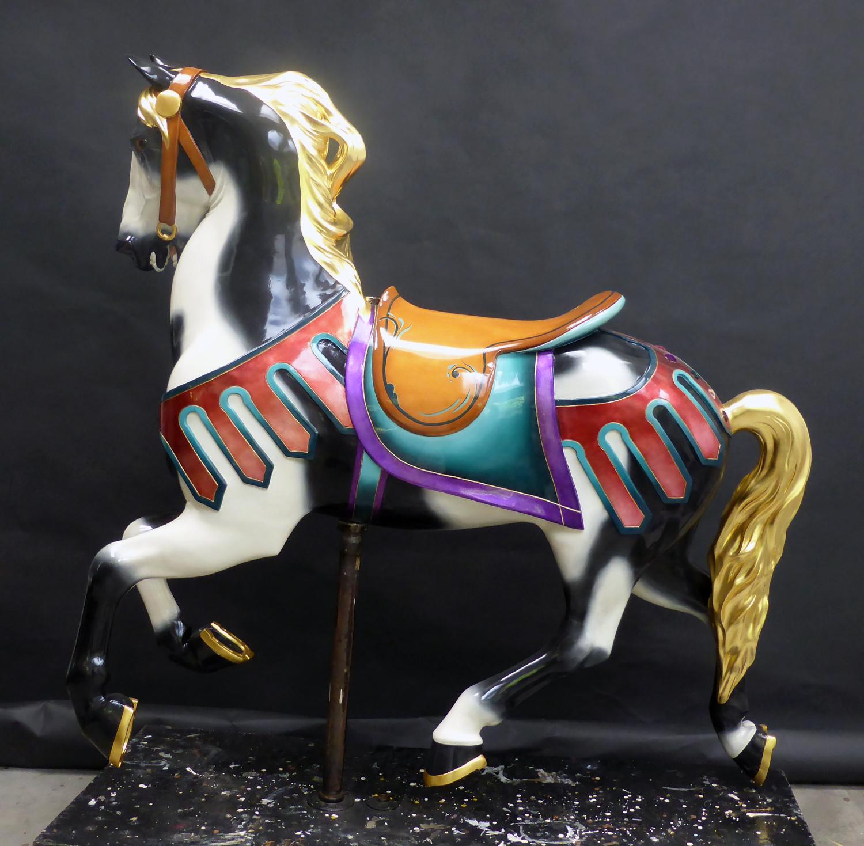 1927-Illions-supreme-carousel-horse-restored-non-romance-side