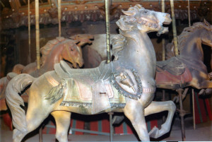 1927-Rock-Springs-WV-military-Muller-carousel-horse-Tuttle-photo