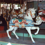 Beech-Bend-park-Dentzel-carousel-horse-ribbon-stander-Farnsworth-photo