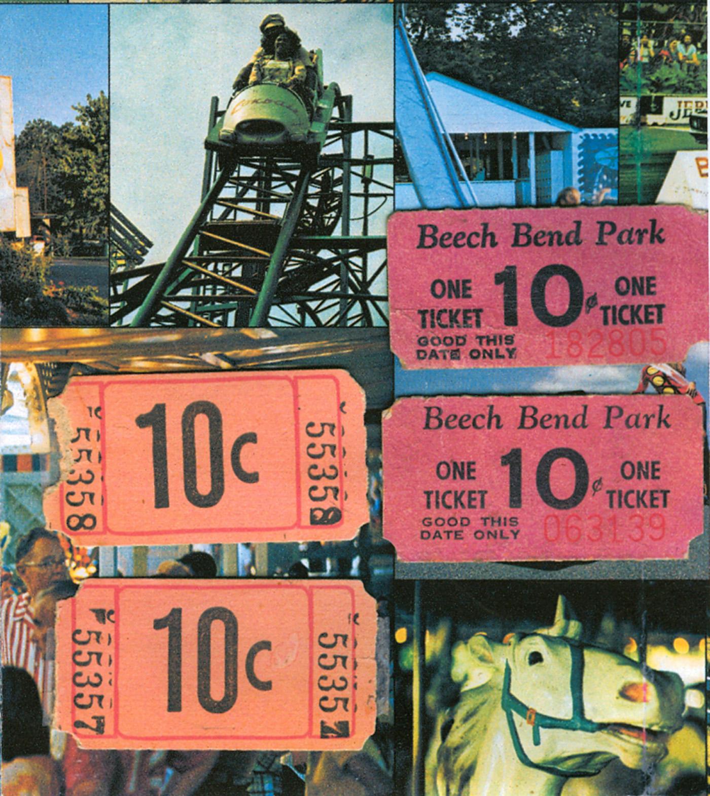 Beech Bend Park Tickets Flyer Farnsworth Photo