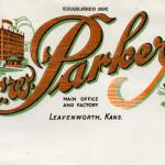 C-W-Parker=Leavenworth-KS-Letterhead