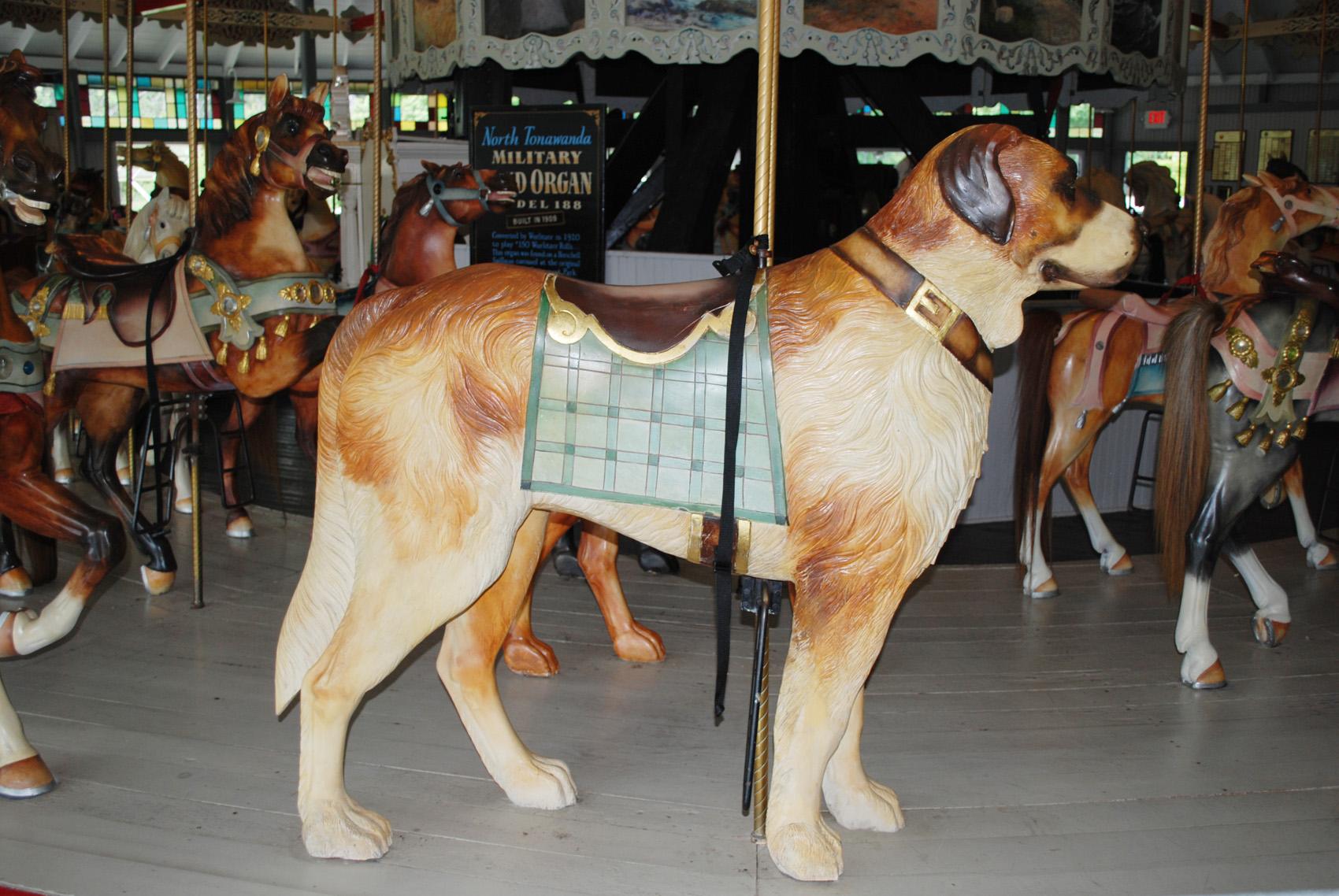 Ca-1895-Slater-Park-Looff-carousel-dog-0