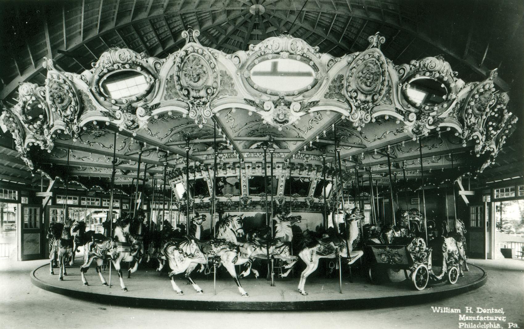Ca-1920s-Wm-Dentzel-carousel-deluxe-menagerie-archive