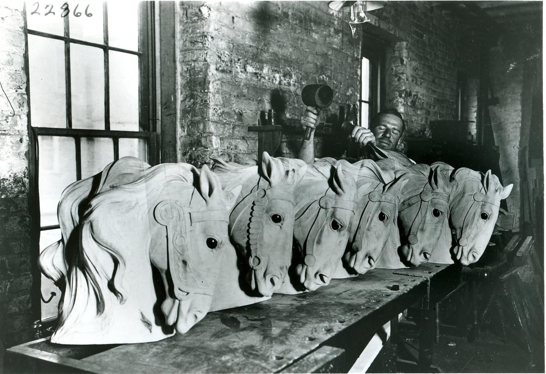Dentzel-carousel-horses-Cherni-carving-1920s