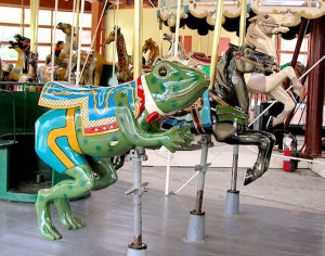 Henry-ford-museum-greenfield-village-historic-carousel-frog