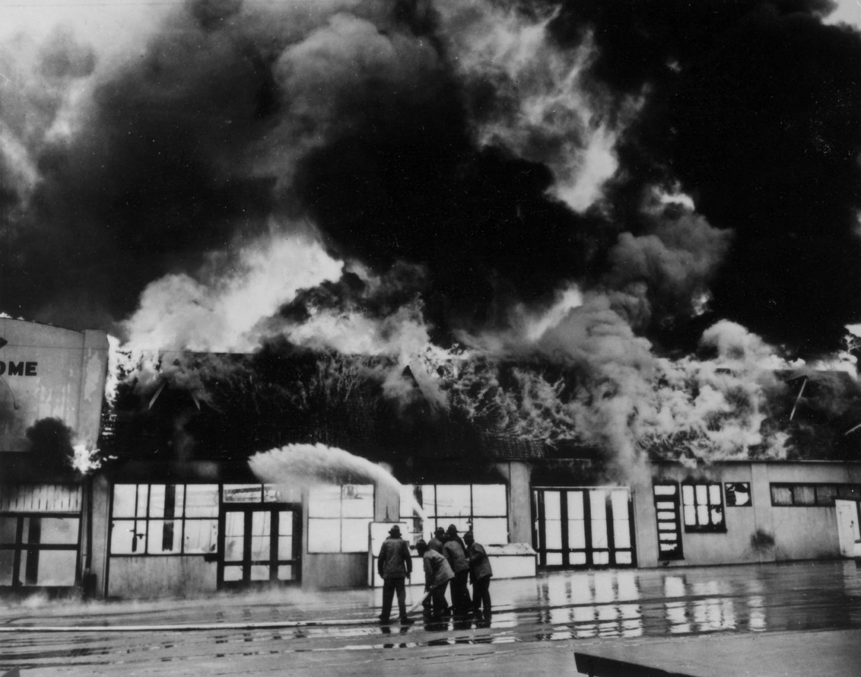 Long Beach Pike Fire 2