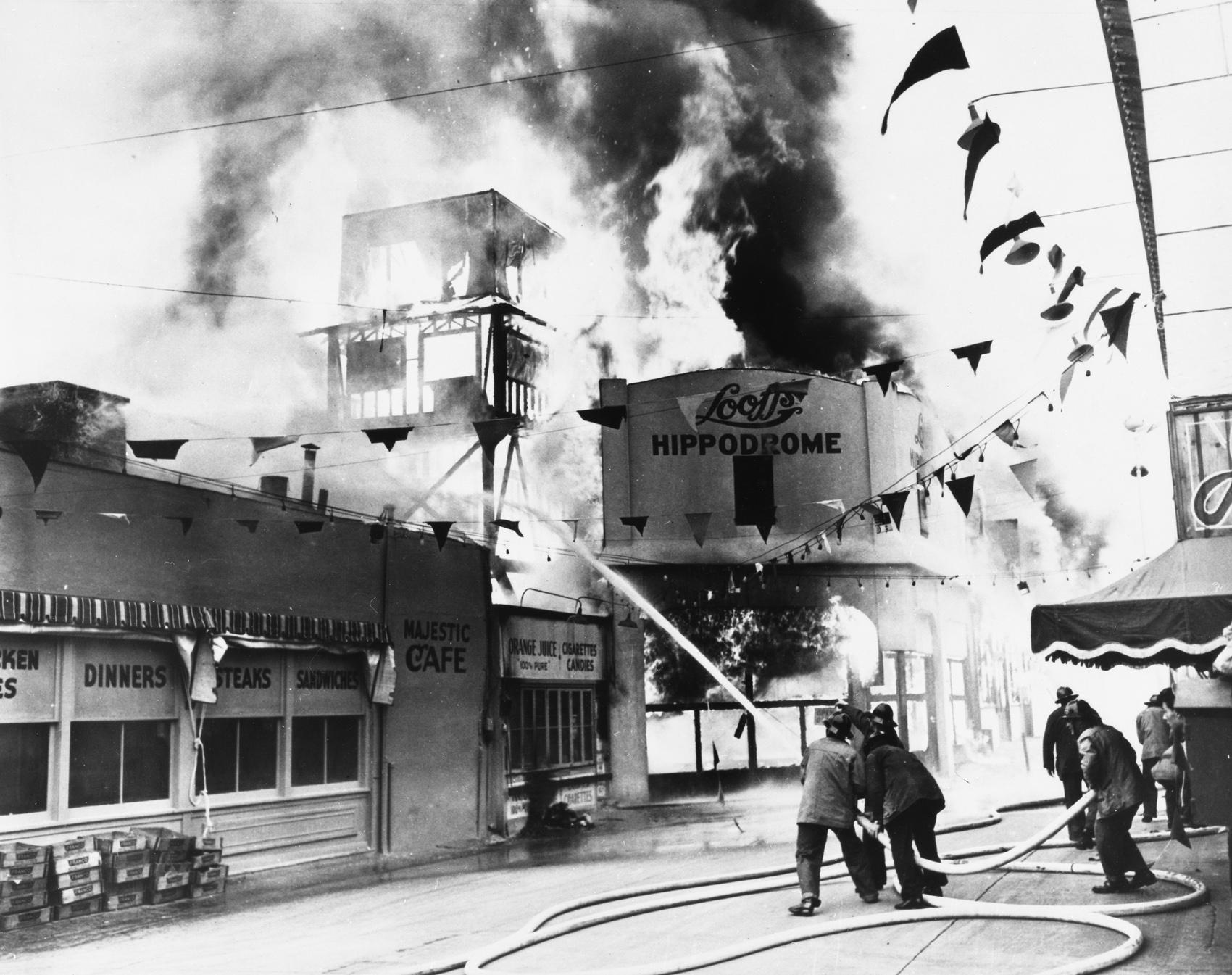 Long Beach Pike Fire
