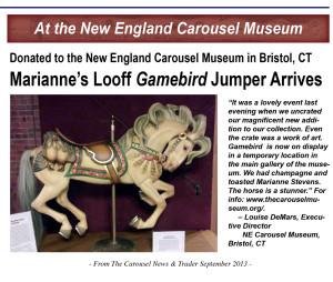 Marianne-Stevens-carousel-horse-to-NE-Carousel-Museum