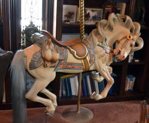 NECM-Marianne-Stevens-Looff-gamebird-carousel-horse