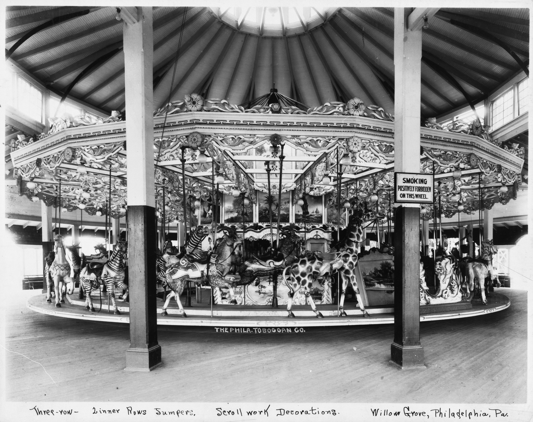 Philadelphia-Toboggan-Co-1906-PTC-No-11-carousel-Circus-Circus-Las-Vegas