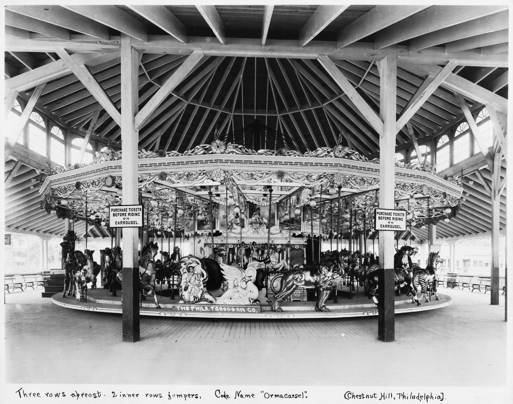 Philadelphia-Toboggan-Co-1906-PTC-No-12-carousel-Crystal-Beach