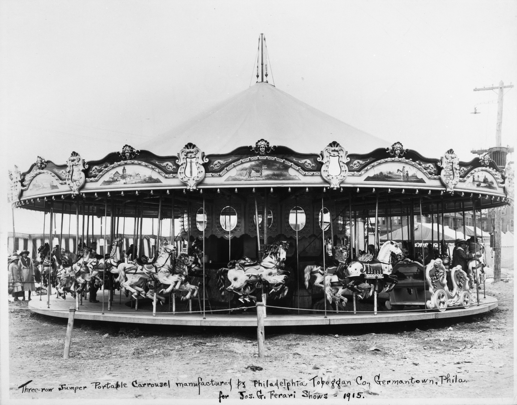 Philadelphia-Toboggan-Co-1915-PTC-No-34-carousel-auction