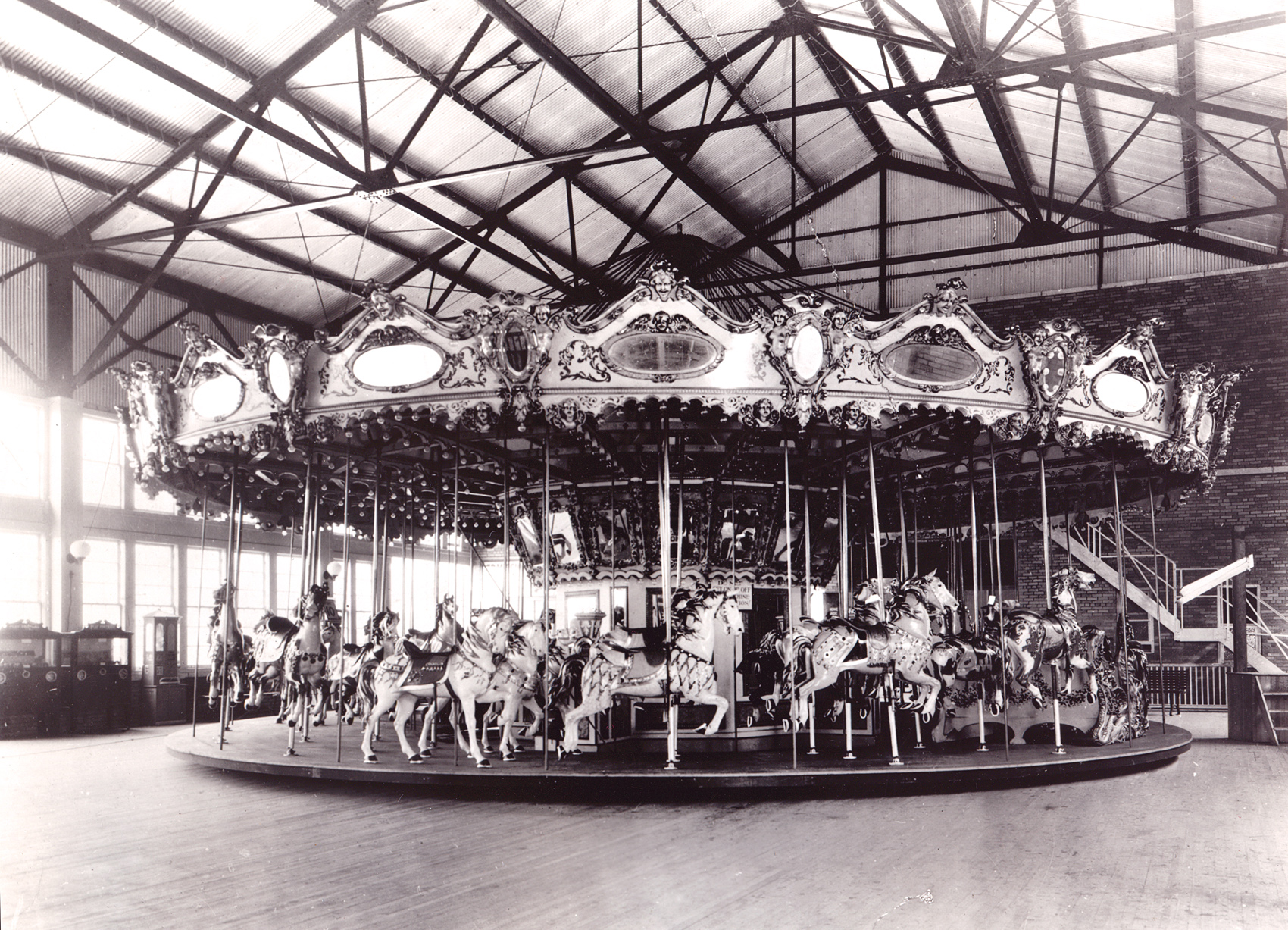M. C. Illions and Sons Carousel Archives
