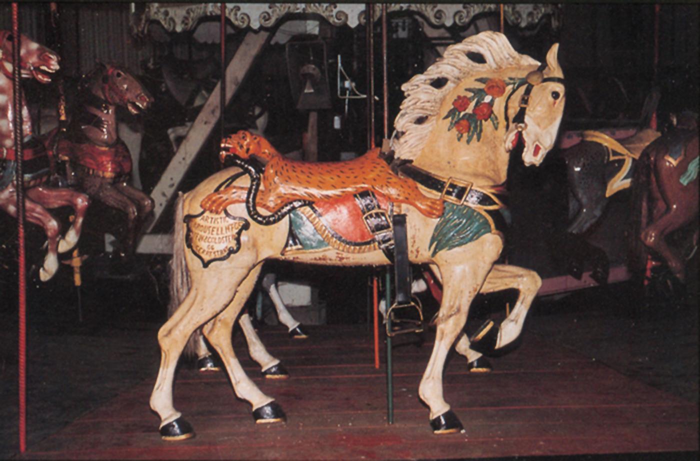 Belchertown, MA – CA 1915 Stein & Goldstein Carousel