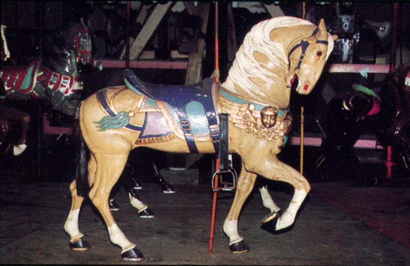 Belchertown-State-School-carousel-11-Stein-Goldstein-horse
