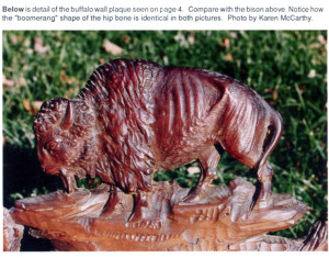 Edward-Buff-carousel-carver-bison-plaque