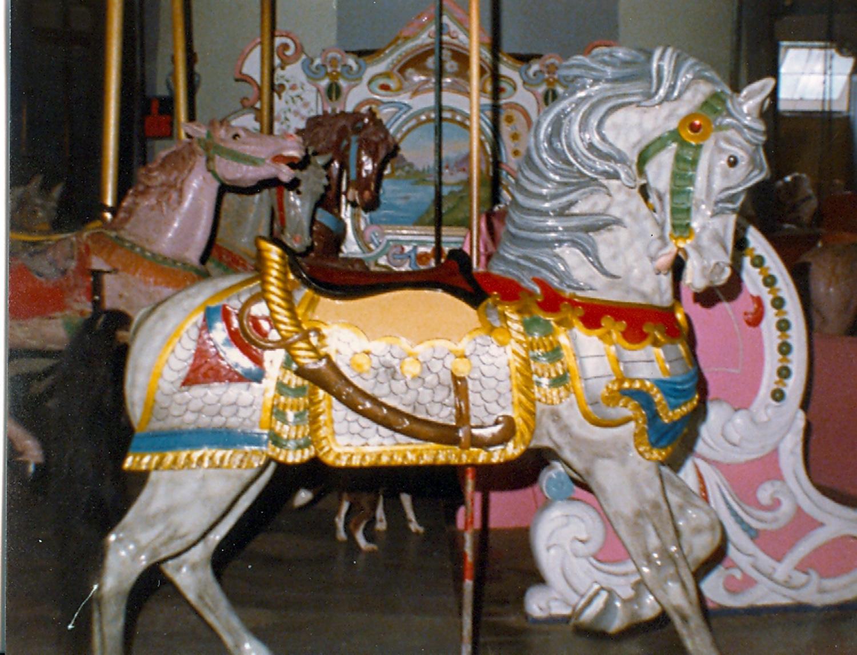 Historic-Salem-Willows-Park-Looff-Kremers-carousel-horse-041