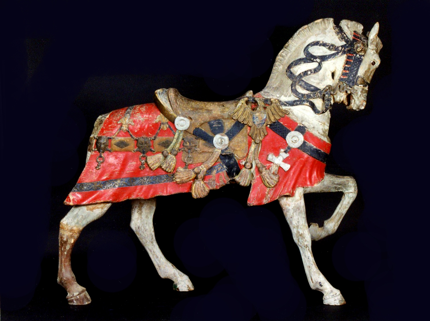 Mexican-Muller-carousel-blanket-horse