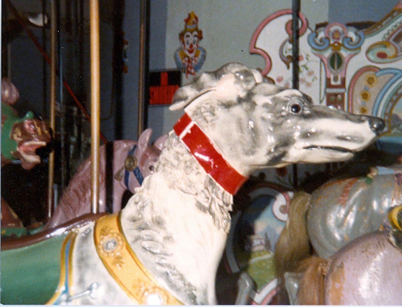 Salem-Willows-MA-1905-Looff-carousel-greyhound-028
