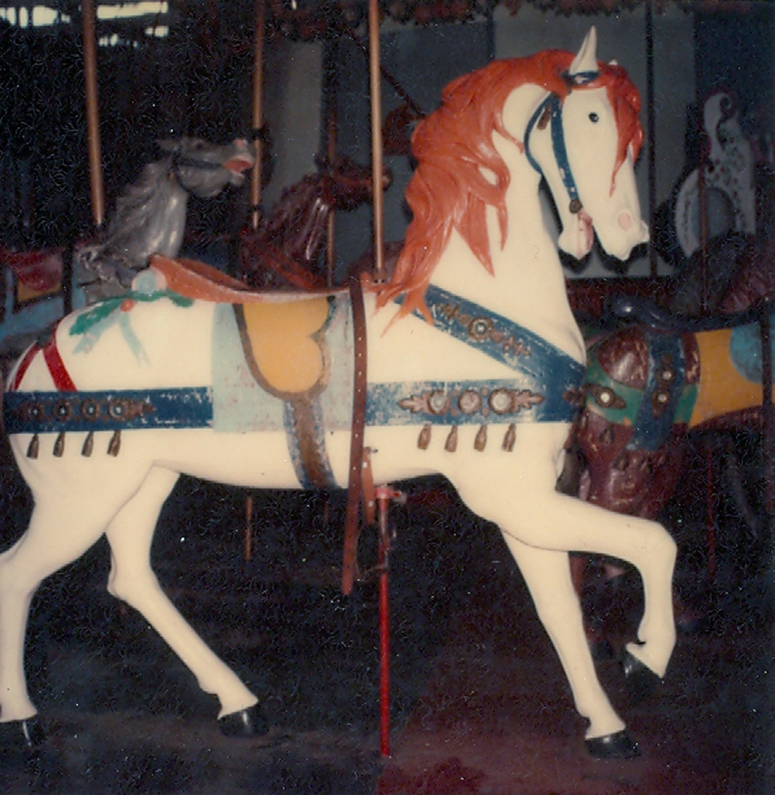Salem-Willows-MA-ca-1905-Looff-carousel-horse-101