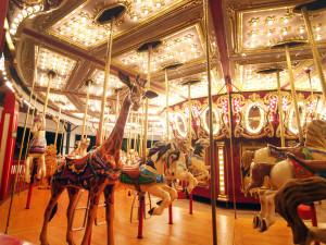 Quassy Park 1990 Chance Carousel