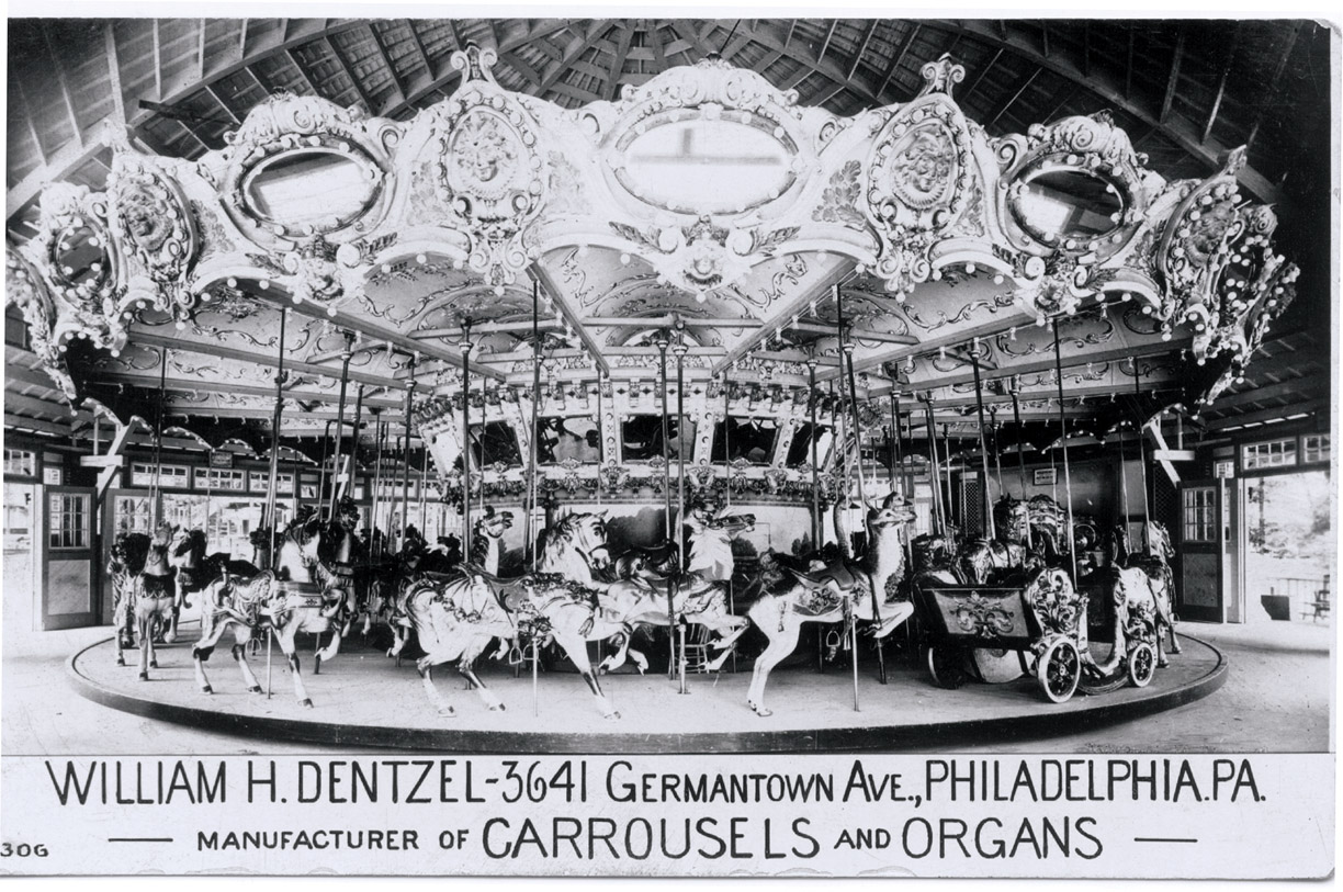 Ca-1920-Wm-Dentzel-carousel-flyer-Glen-Echo