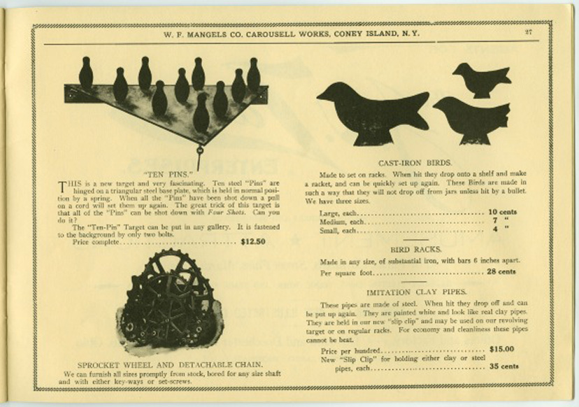Mangels Catalog page 27