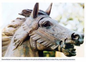 Pen-Mar-Muller-carousel-horse-Indian-pony