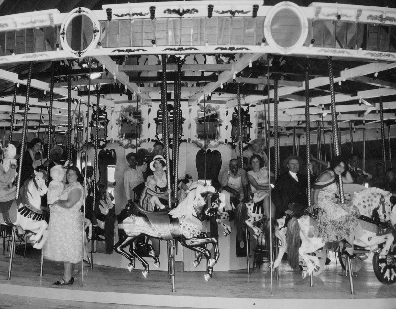 UT – Saltair Park – 1910 Looff menagerie