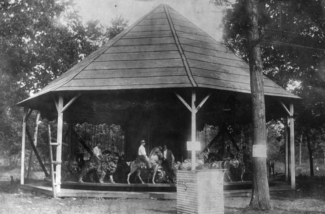New Feature – Quassy Lake Carousel History