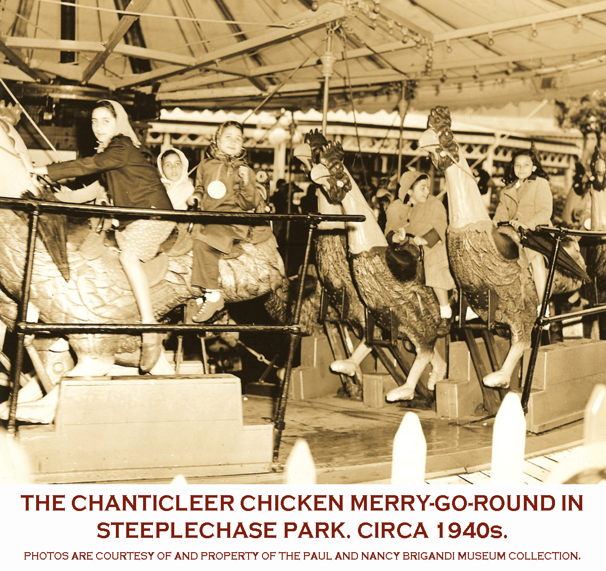 Coney Island S Steeplechase Parkcarouselhistory Com