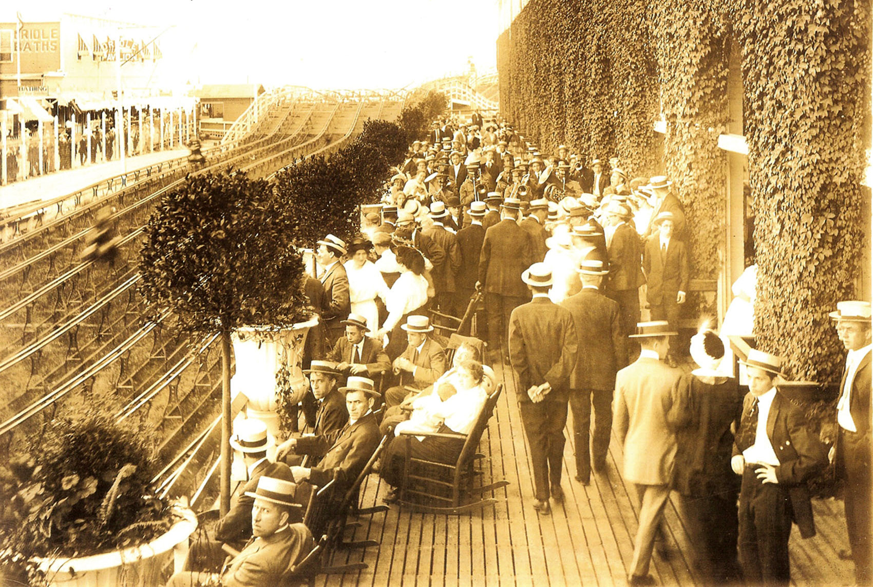 Coney-Island-Steeplechase-finish-line-Veranda-ca-1912