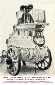 M-C-Illions-carved-Luna-Park-ticket-chariot