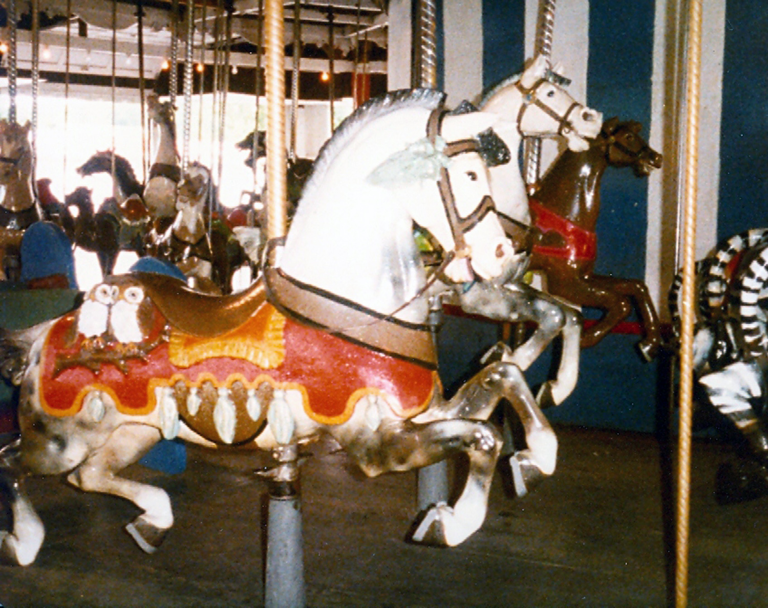 NEW FEATURE - Quassy Carousel History