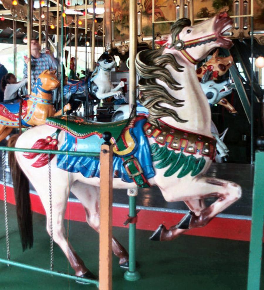 1910-Herschell-Spillman-carousel-horse-Balboa-Park-CA