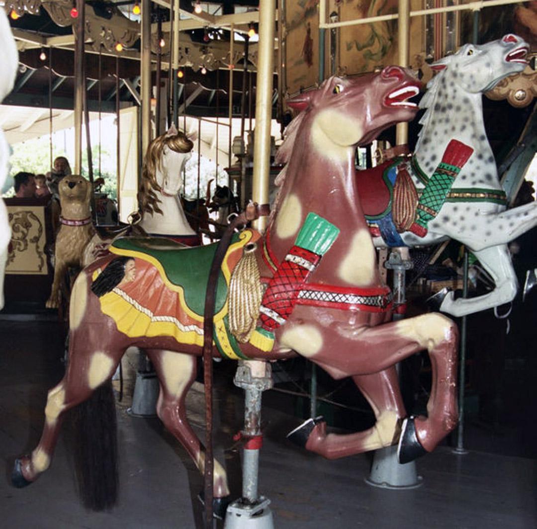 1910-Herschell-Spillman-carousel-horses-Balboa-Park-CA