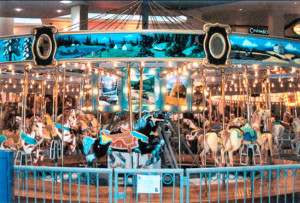 1922 Spillman, Jr. Carousel. Jean Bennett photo.