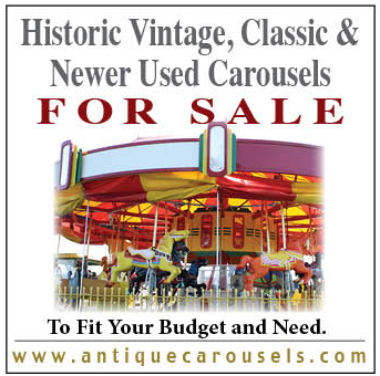 HISTORIC - VINTAGE - USED CAROUSELS FOR SALE