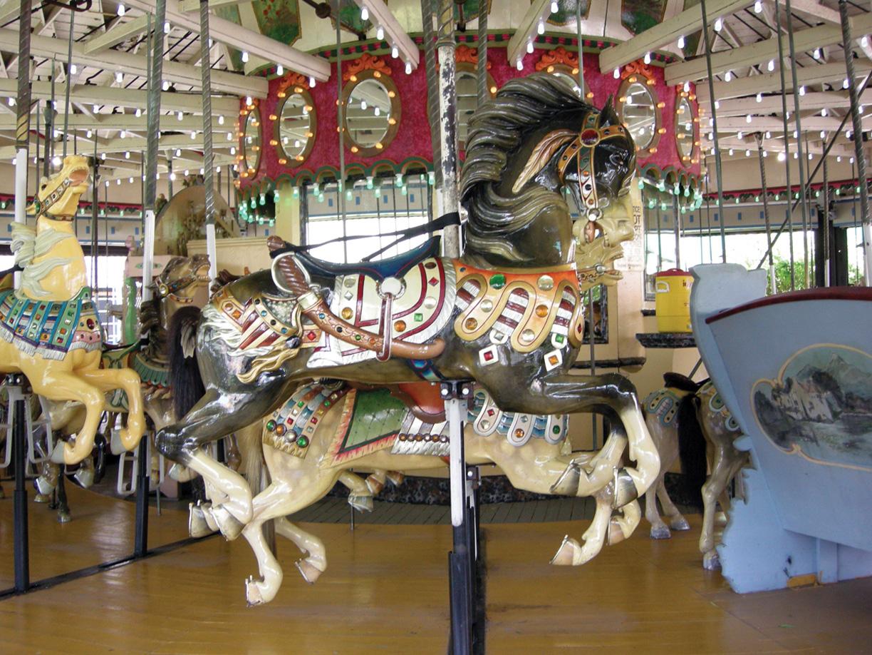 Ca-1915 Carmel-carousel-horse-Rye-Playland-JCaruso-photo