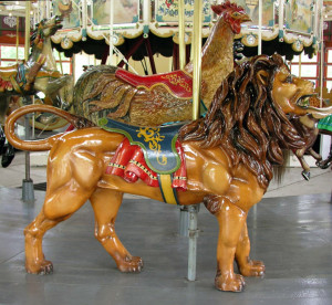 Ca. 1913 H-S lion from Greenfield Village at The Henry Ford Museum