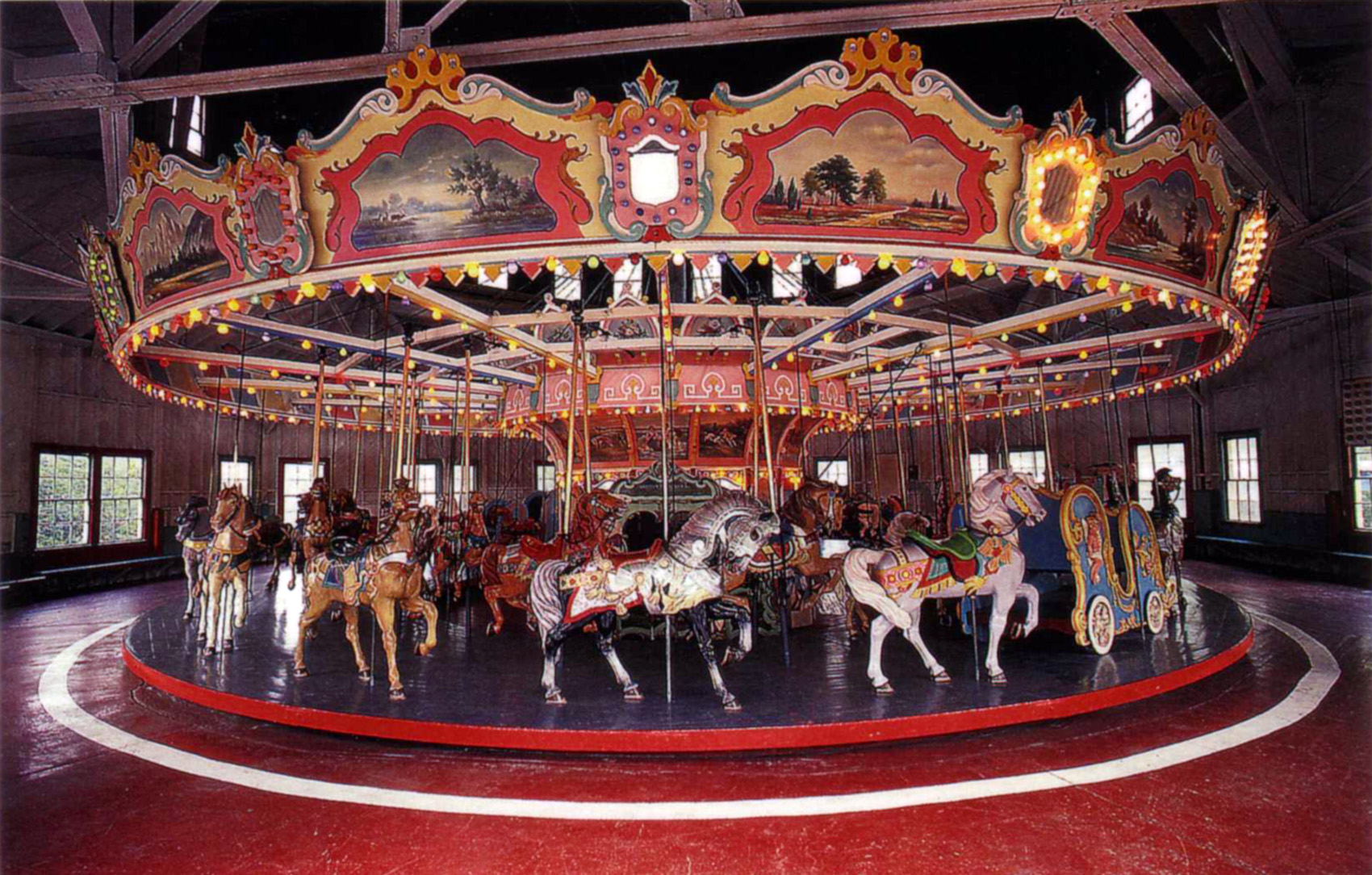 Holyoke-merry-go-round-PTC-80-postcard