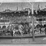 1890s Louis Bopp-Charles Looff Carousel at Sulzer's Harlem River Park, ca. 1900. Photo appeared in the CNT, June 2009, and Oct. 2010. Photo courtesy of the Sand Lake Historical Society. (Originally donated by Robert Kolb).