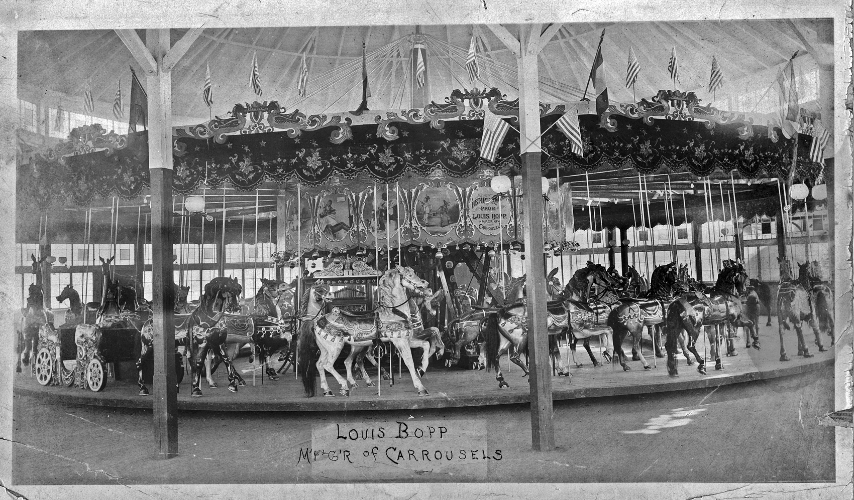 Historic Bopp-Looff Carousel from Sulzer's Harlem River Park
