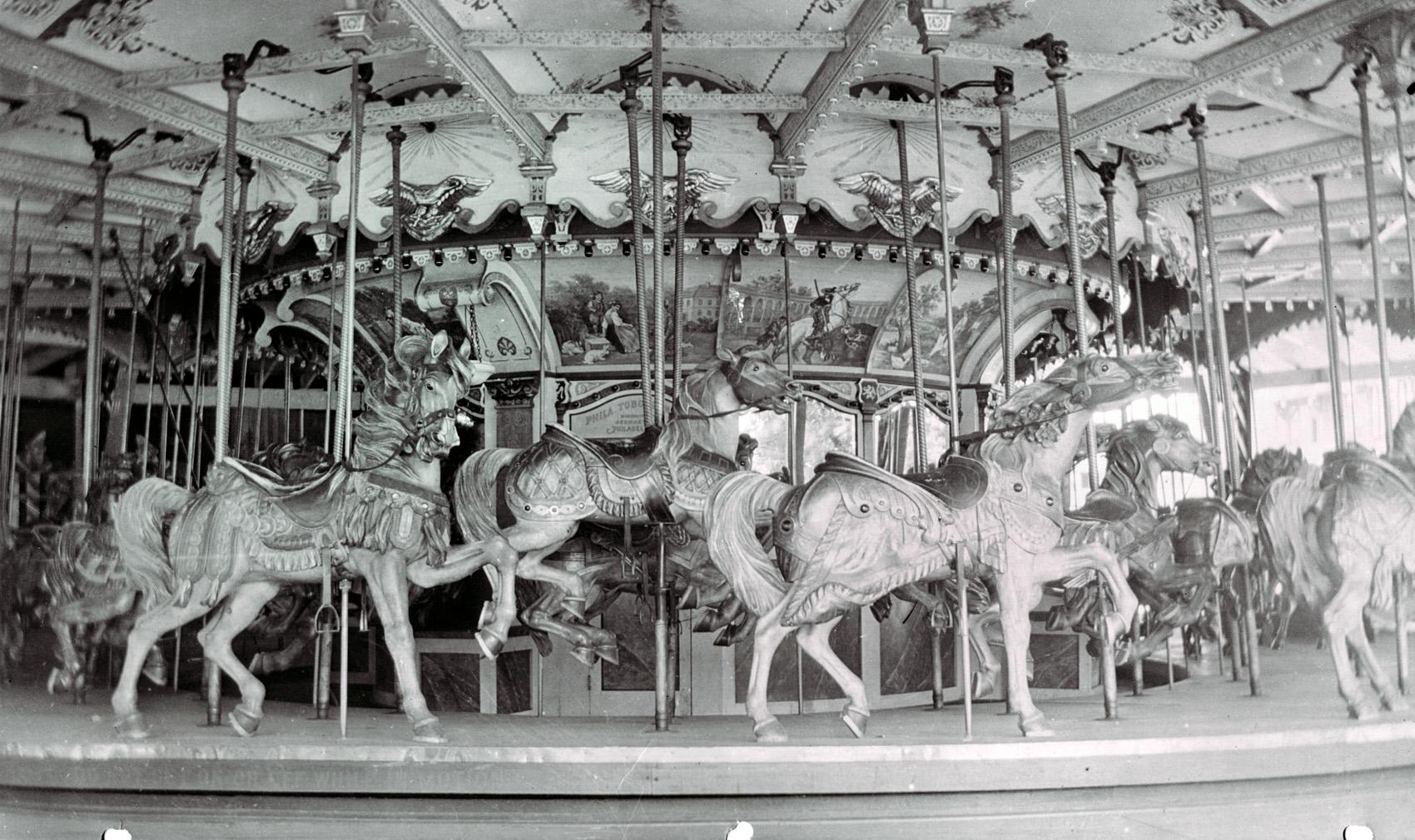 PTC-47-carousel-Enna-Jettick-Park-NY-1930s-PTC-factory-archives