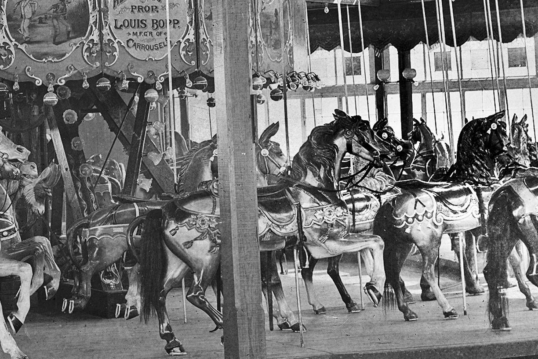 Sulzers-Louis-Bopp-carousel-horses-Harlem-River-Park-1890s