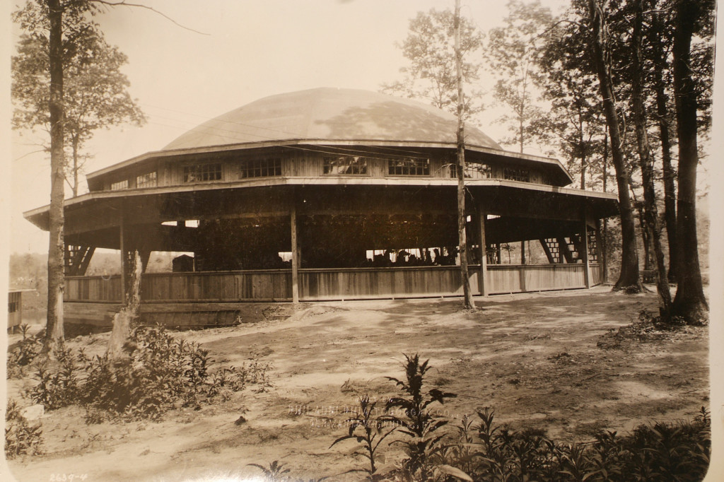 This is actually the PTC #9 building in Mount Gretna, before the carousel moved to Pine Grove.