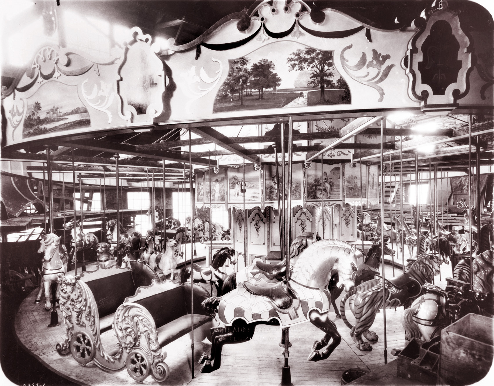 1905-PTC-9-carousel-factory-photo-courtesy-Tom-Rebbie-PTC-archive