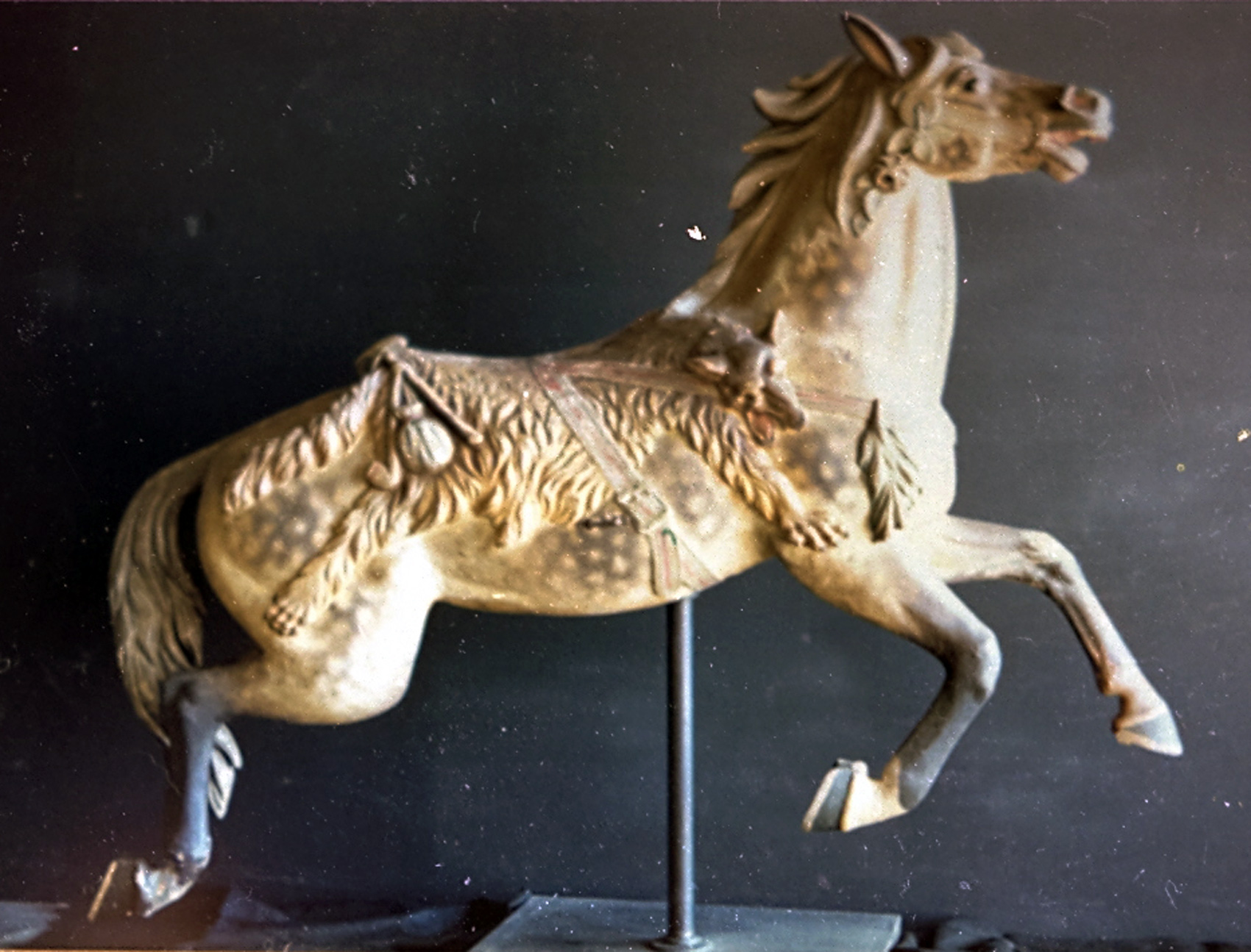 PTC-9-carousel-horse-stander-converted-jumper-pine-grove-PA