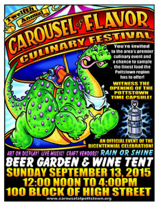 Pottstown-2015-POSTER-Carousel-of-Flavor