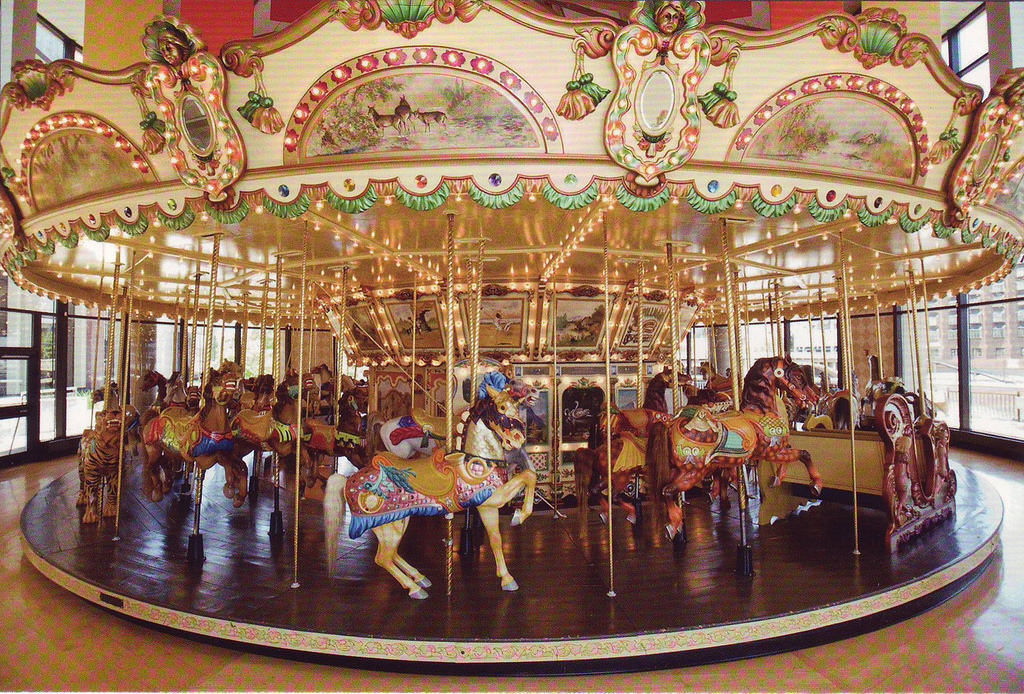 Restoration Grant for Historic Buffalo Heritage Carousel